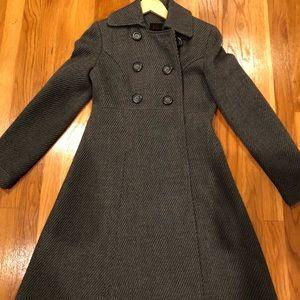 Victoria Secret Via Gray Dress Coat
